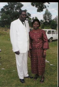 Pastor Amos and First Lady